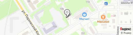 ЗДРАВНИЦА на карте Березников