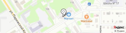 Банкомат, ВТБ Банк Москвы, ПАО Банк ВТБ на карте Березников