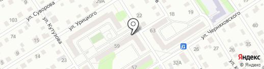 Магазин зоотоваров на карте Березников
