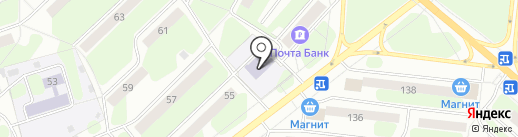 Детская музыкальная школа №1 им. П.И. Чайковского на карте Березников