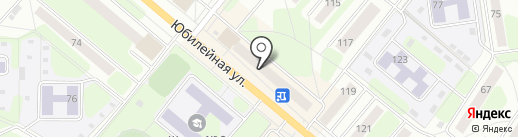Октябрь на карте Березников