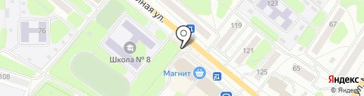 Киоск по ремонту обуви на карте Березников