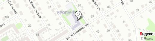 Вечерняя (сменная) общеобразовательная школа на карте Березников