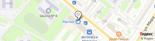Мое солнышко на карте Березников