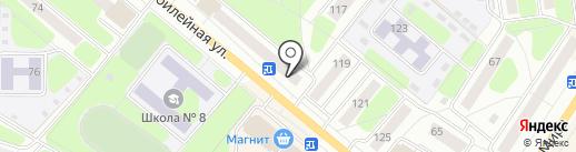 Дива на карте Березников