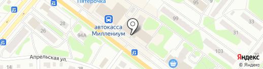 Магазин парфюмерии на карте Березников
