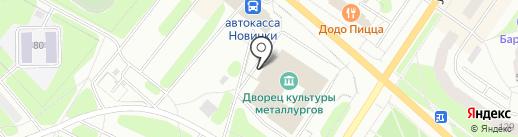 Металлург на карте Березников
