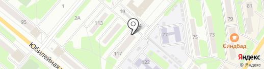 Совет ветеранов микрорайона №7 на карте Березников