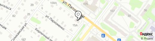Мясной союз на карте Березников