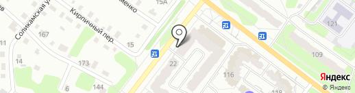 Сафари на карте Березников