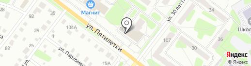 Почтовое отделение №26 на карте Березников