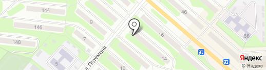 Наша марка на карте Березников