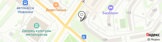 Эксклюзив на карте Березников