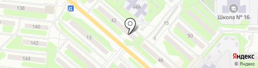 Камилия на карте Березников