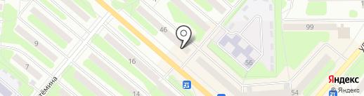 XL на карте Березников