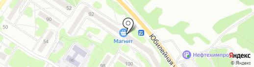 Магазин канцелярских товаров на карте Березников