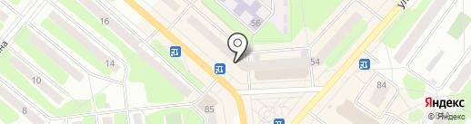 География на карте Березников