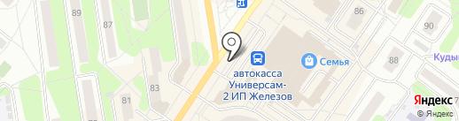 Дубай на карте Березников