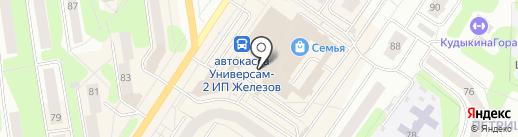 Баскин Роббинс на карте Березников