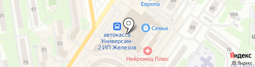 Магазин мужской одежды на карте Березников