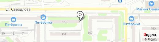 Кружка на карте Березников