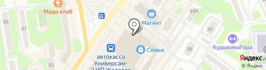 Zarina на карте Березников