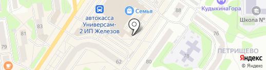 Оптика №1 на карте Березников