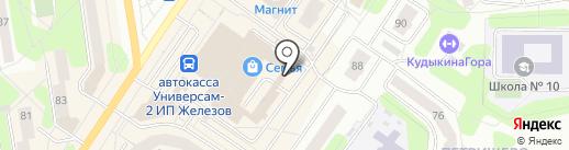 Мулатка на карте Березников