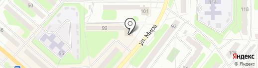 Магнит на карте Березников
