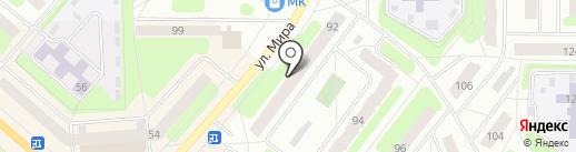 Эсмеральда на карте Березников