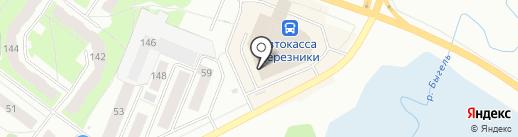FunnyПупс на карте Березников
