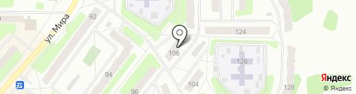 Калинка на карте Березников