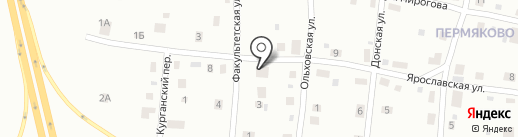 Производственная компания на карте Березников