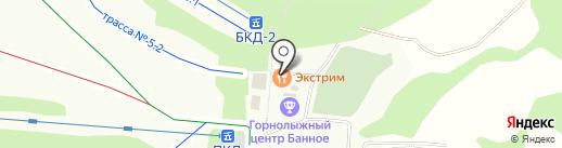 Экстрим на карте Зелёной Поляны