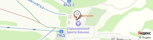 Тир на карте Зелёной Поляны