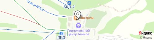 ММК-Курорт на карте Зелёной Поляны