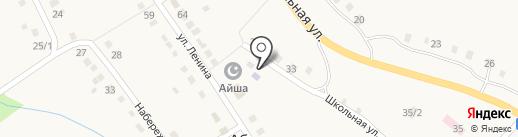 Библиотека №22 на карте Абзаково