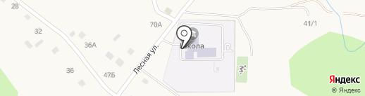 Средняя общеобразовательная школа им. А. Лутфуллина на карте Абзаково