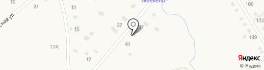 Абзаково Weekend на карте Абзаково