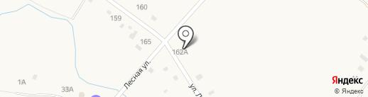Зиля на карте Абзаково