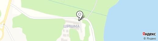 Шишма, ТСЖ на карте Зелёной Поляны