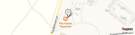 Polyanka на карте Зелёной Поляны