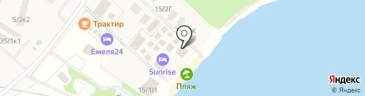 SunRise на карте Зелёной Поляны