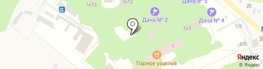 ММК на карте Зелёной Поляны