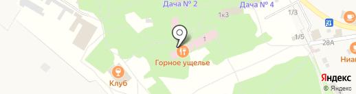 Юбилейный на карте Зелёной Поляны