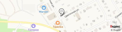 ПРОРАБ на карте Зелёной Поляны