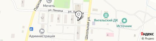 Чулпан на карте Янгельского
