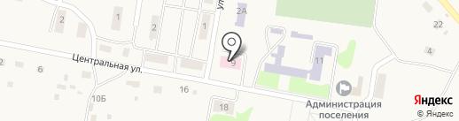 Краснобашкирская сельская врачебная амбулатория на карте Красной Башкирии