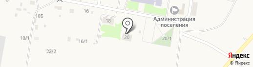 Краснобашкирская библиотека на карте Красной Башкирии