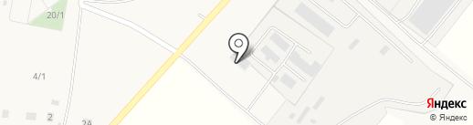 Технохим, ЗАО на карте Красной Башкирии